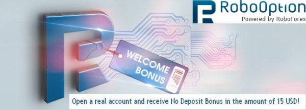 $15 Binary-Options no-deposit Bonus